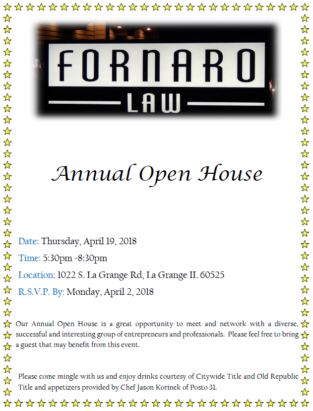 2018 open house invitation